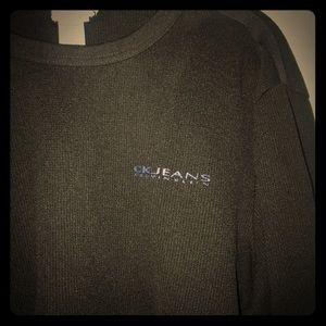 Black Lon sleeve Calvin Klein t-shirt